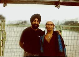 Con nuestro Maestro en India