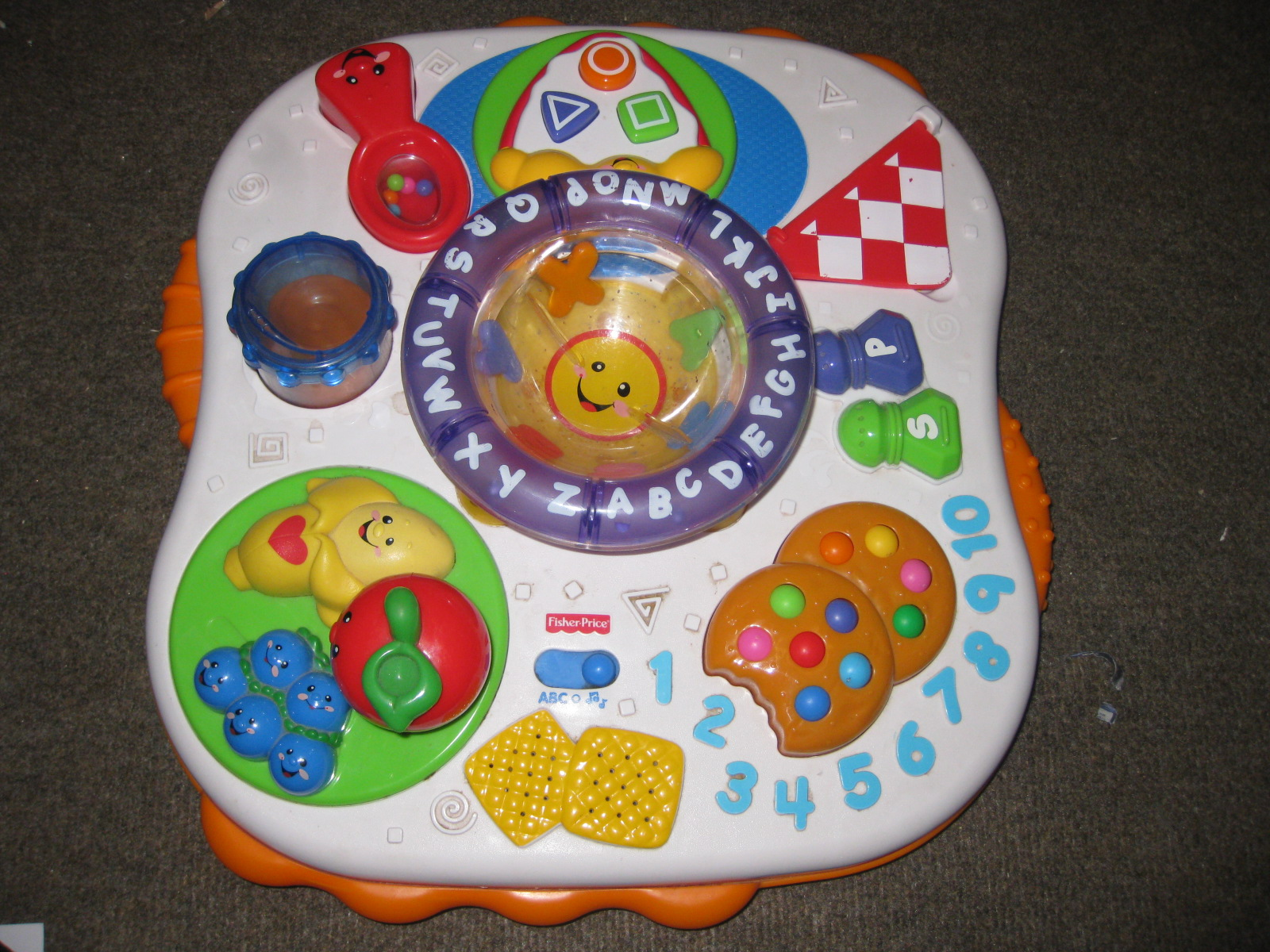 Mesya baby wardrobe fisher price laugh learn activity table - Table activite fisher price ...