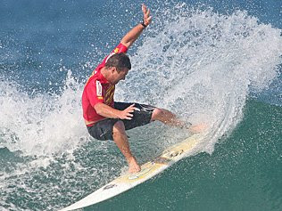 Surfer Shane Bevan.