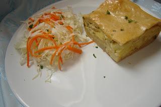 Articole culinare : Placinta cu cartofi si smantana