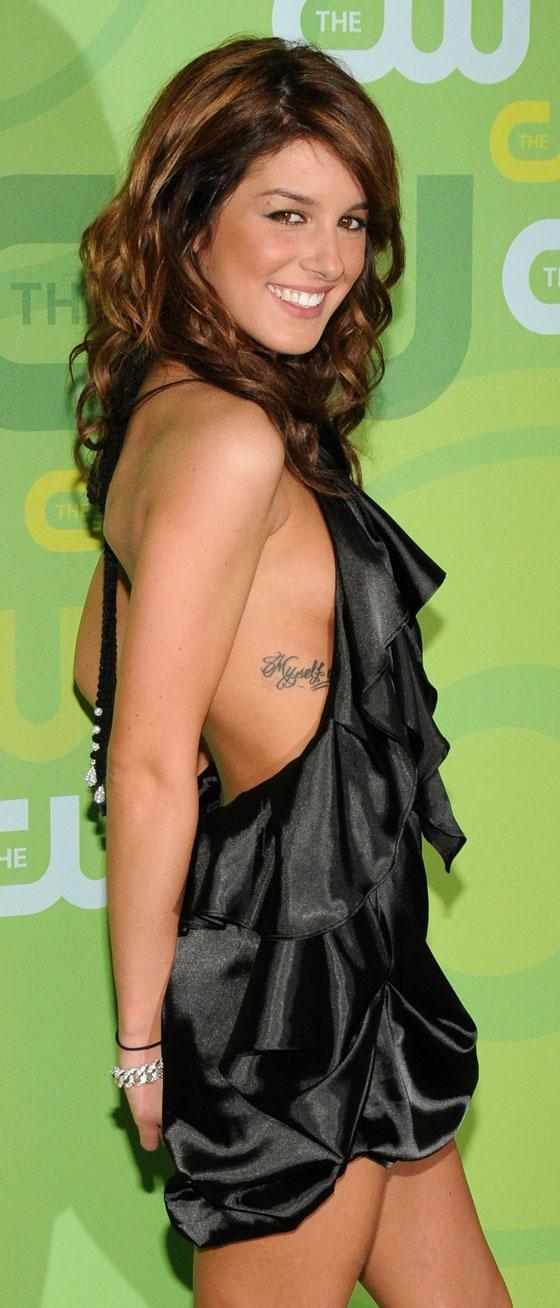 Shenae Grimes Tattoo Pic
