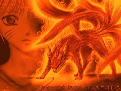 Naruto Kyubi 9
