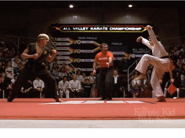 Karate Kid tournament