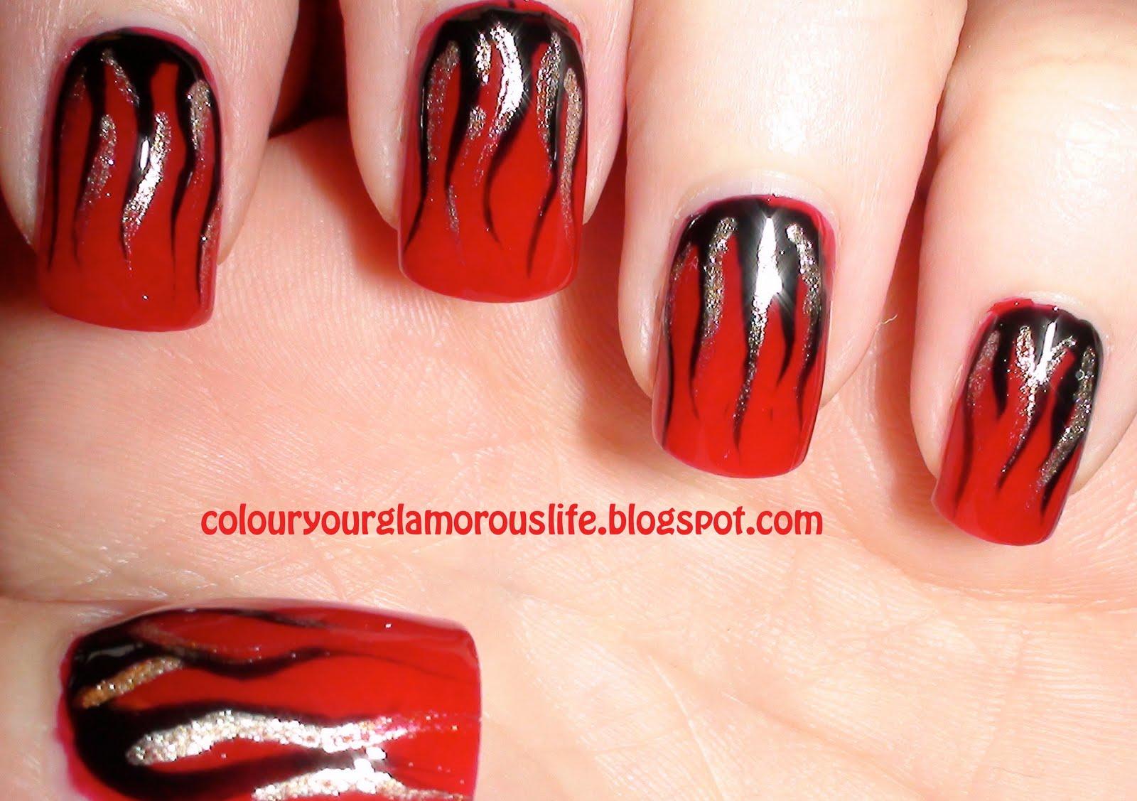 Angel Nail Art Design