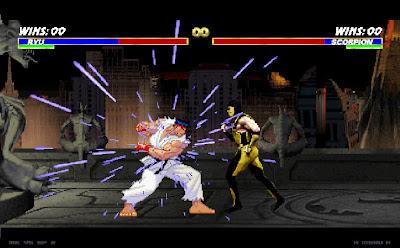 Game Mortal Kombat VS Street Fighter PC Download img 1