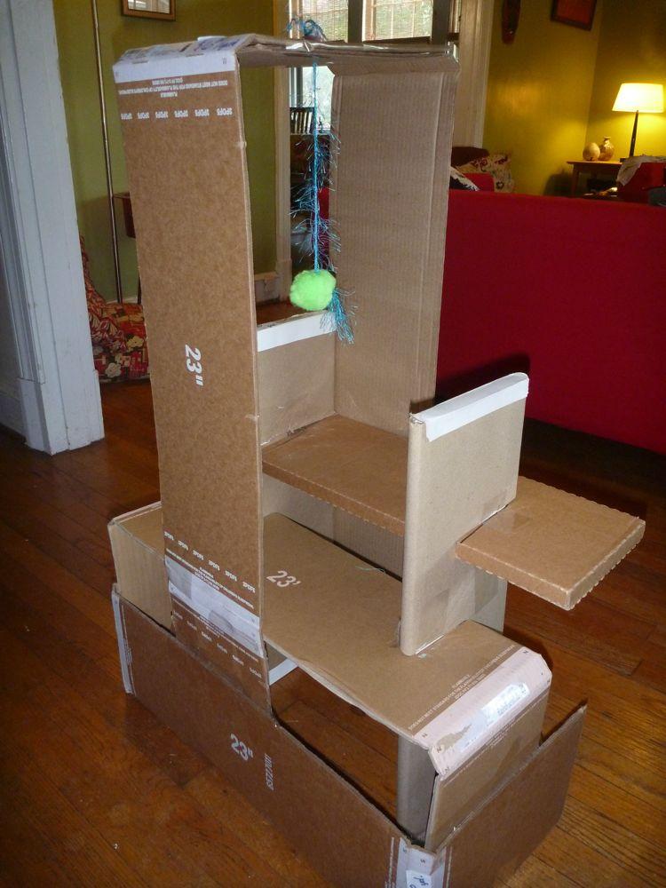 Cardboard Cat House Designs Image Gallery - HCPR