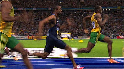 Usain bolt runs 100 meters in 9 58 second how fast could an augmented