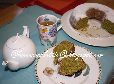 Ciambella al tè verde Sencha Tokumushi