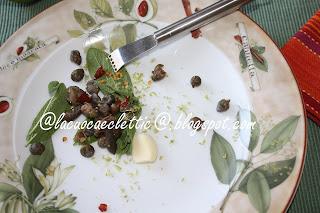 Pollo al peperoncino, aglio e limone