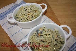 Gramigna con gorgonzola e nocciole