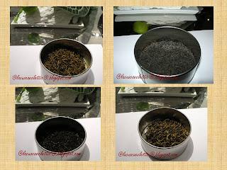 Degustazione di tè neri cinesi