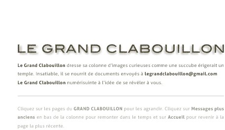 Le Grand Clabouillon