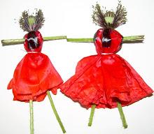 Bonecas de papoilas
