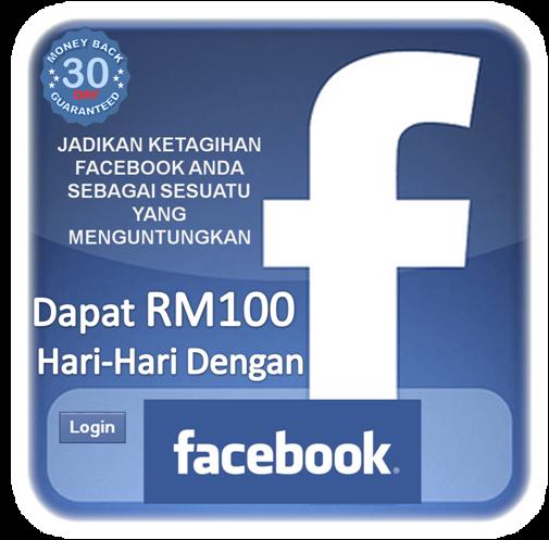 Dapat RM100 hari-hari dengan login Facebook