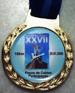 Medalha entregue aos Participantes