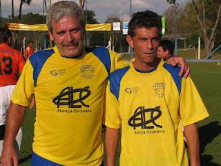 Os atacantes Luizão Pisani e Luy Salomão, da Aliança Cerâmica (veterano), marcaram cinco gols na rodada inicial