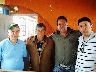 da Esq.p/Direita:Zé Tavares, J. Mattoso, Esdon Fonseca e Jarbinha Filho