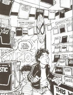 Copybook Tales comics store