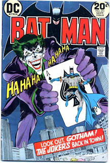 Batman Joker cover