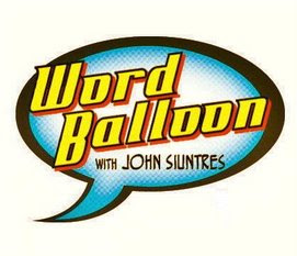Word Balloon with John Siuntres logo