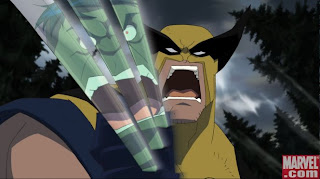 Wolverine in Hulk Vs.