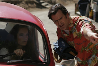 Bruce Campbell directing