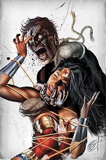 Wonder Woman Blackest Night cover