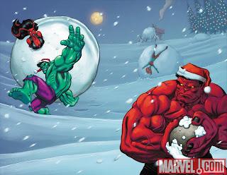 Hulk Santa Variant