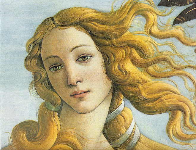 Sandro Botticelli's Venus because he was brilliant and I'm awed