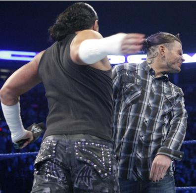 wwe smackdown wrestlemania matt hardy vs jeff hardy