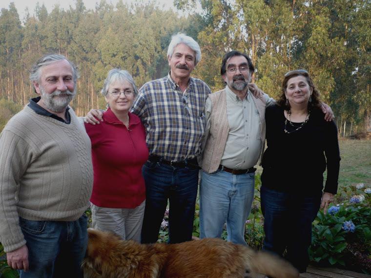 AMIGOS (15). LOS CINCO FANTÁSTICOS EN BOYECO