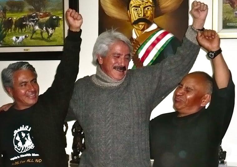 LA RISA, COMBUSTIBLE REVOLUCIONARIO. JACOBO, ZAPATA Y NACHO