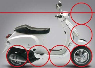 Vespa 1960 - Projecto 03+Propor%C3%A7%C3%A3o+Scooter