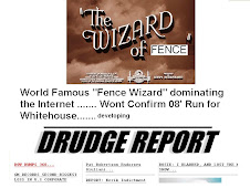 Drudge unable to ignore Fence Wizard  prowess