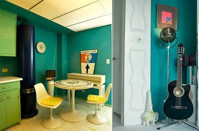 Color Accents Galore for a Miami Beach Apartment