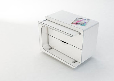 Interesting & Multifunctional Bedside Cabinet and Table by  Maria Cichy