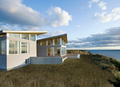 Savage Modern House In The Truro Beach