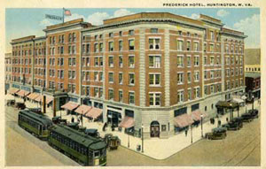Ghosts Of The Frederick Hotel Huntington
