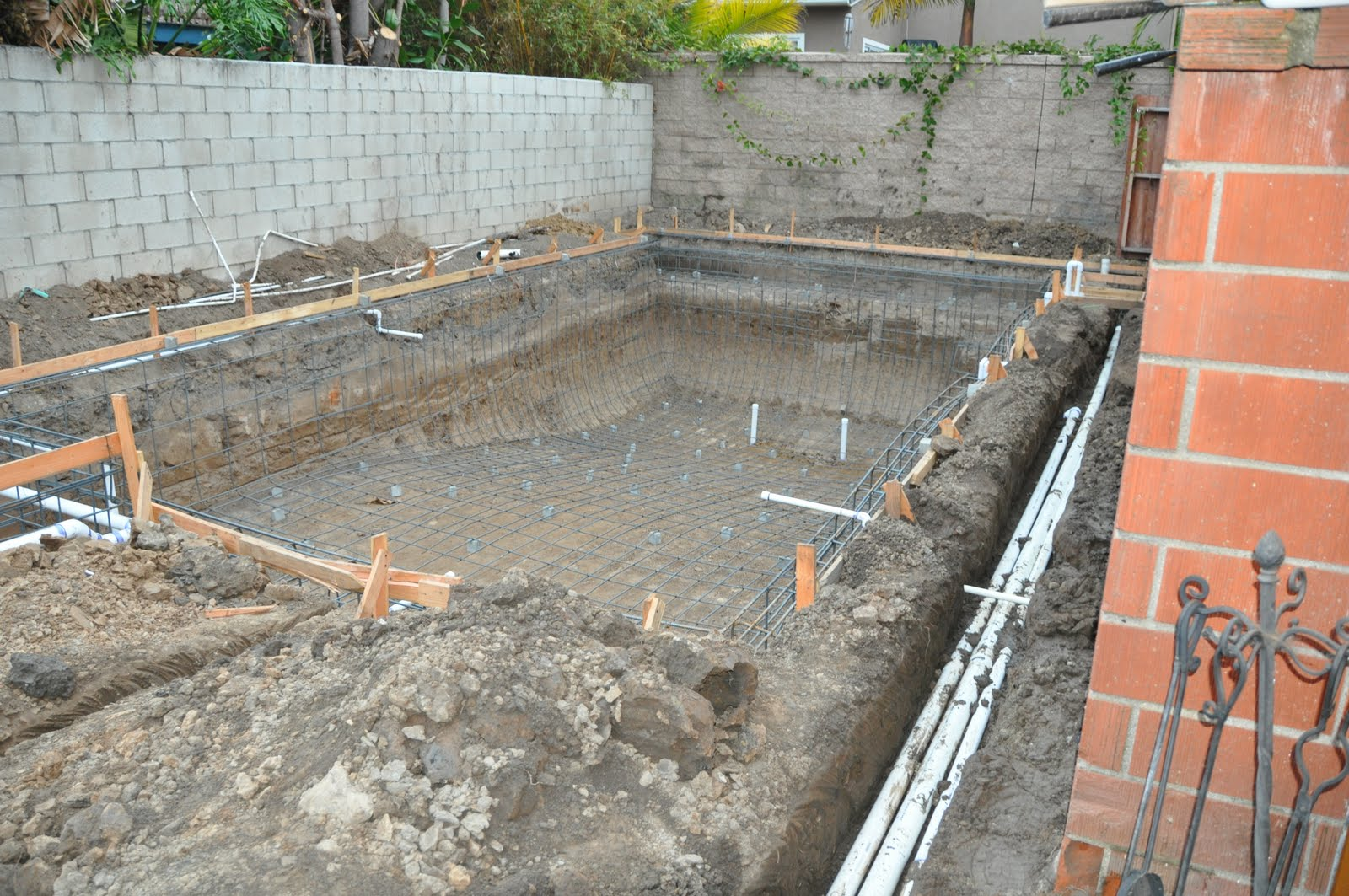 Putting In An Inground Pool   Plumbing