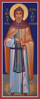 icone de saint Ephrem le Syrien
