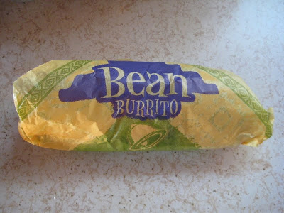 Taco Bell's Bean Burrito wrapped