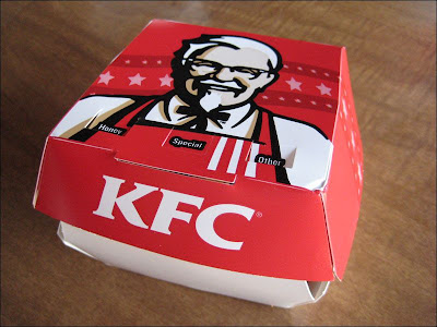 KFC Popcorn Chicken Snack Box