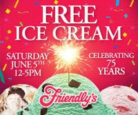 Friendly's Free Ice Cream Day