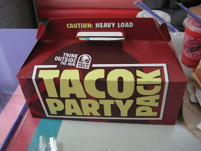 Taco Bell's Taco Party Pack