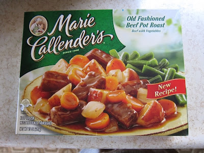 Marie Callender's Pot Roast Box