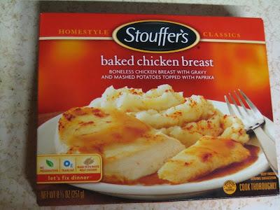 Stouffer's Baked Chicken Dinner box
