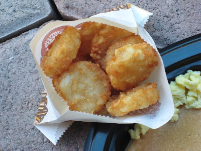 close up of BK hash browns