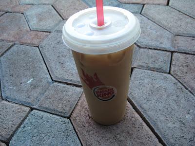 Burger King Seattle's Best Iced Mocha Coffee