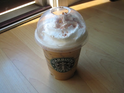 Starbucks Iced Pumpkin Spice Latte