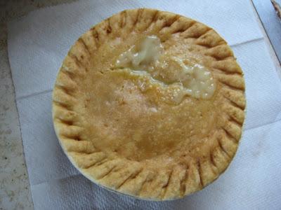 Marie Callender's Chicken Pot Pie cooked